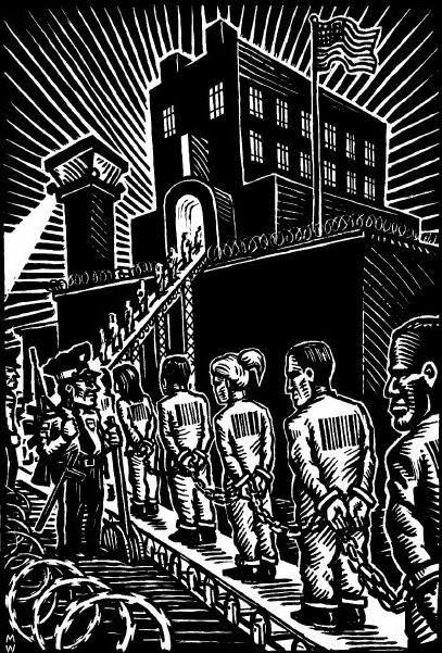 prison labor is slave labor