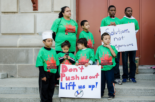 09/29/2012 School to Jail March. Image by sarah-ji via Flickr.