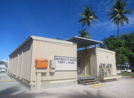 The New Nauru Courthouse